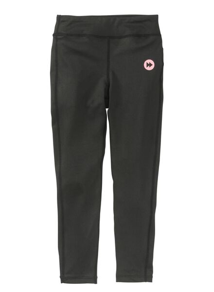 kinder sportbroek zwart zwart - 1000009062 - HEMA