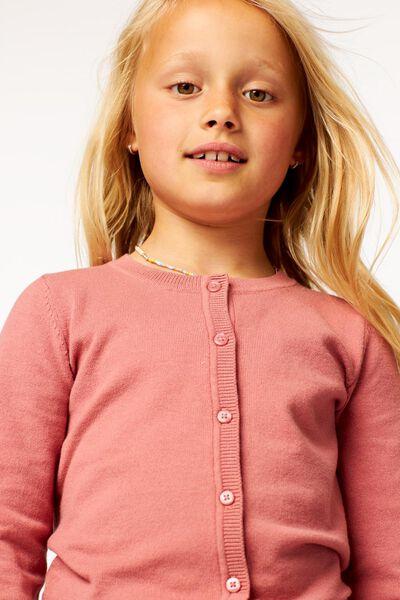 kindervest roze 122/128 - 30887958 - HEMA