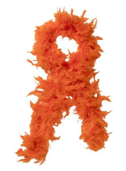 boa 1.5m oranje - 25260002 - HEMA
