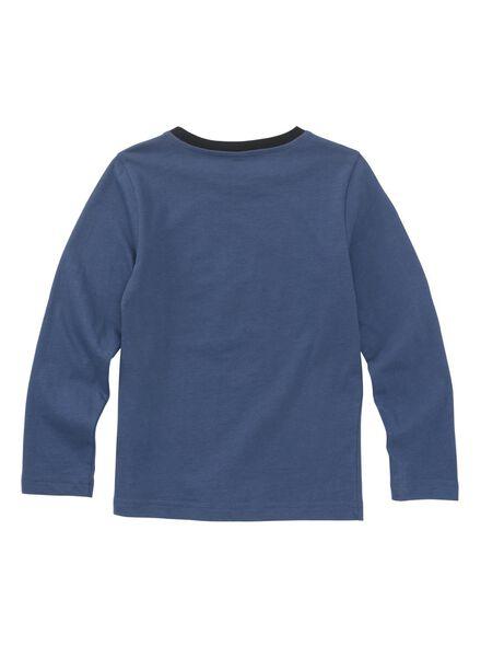 kinderpyjama blauw blauw - 1000010708 - HEMA