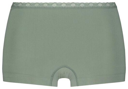 damesboxer naadloos groen L - 19613813 - HEMA