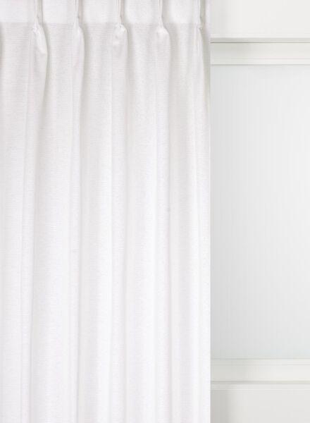 gordijnstof den helder wit den helder - 7222321 - HEMA