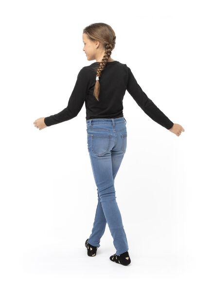 kinder t-shirt zwart 110/116 - 30843644 - HEMA