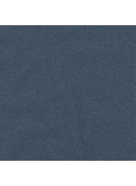 heren t-shirt lichtblauw lichtblauw - 1000011531 - HEMA