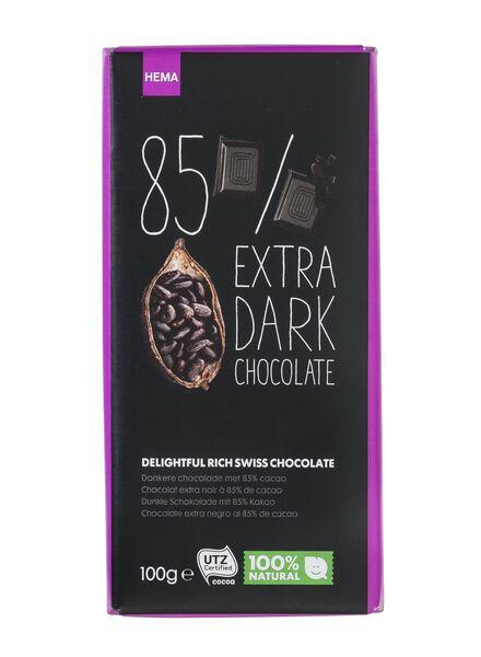 extra pure chocolade 85% - 10370034 - HEMA