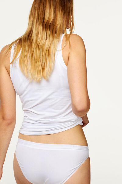 dameshemd real lasting cotton wit wit - 1000001947 - HEMA