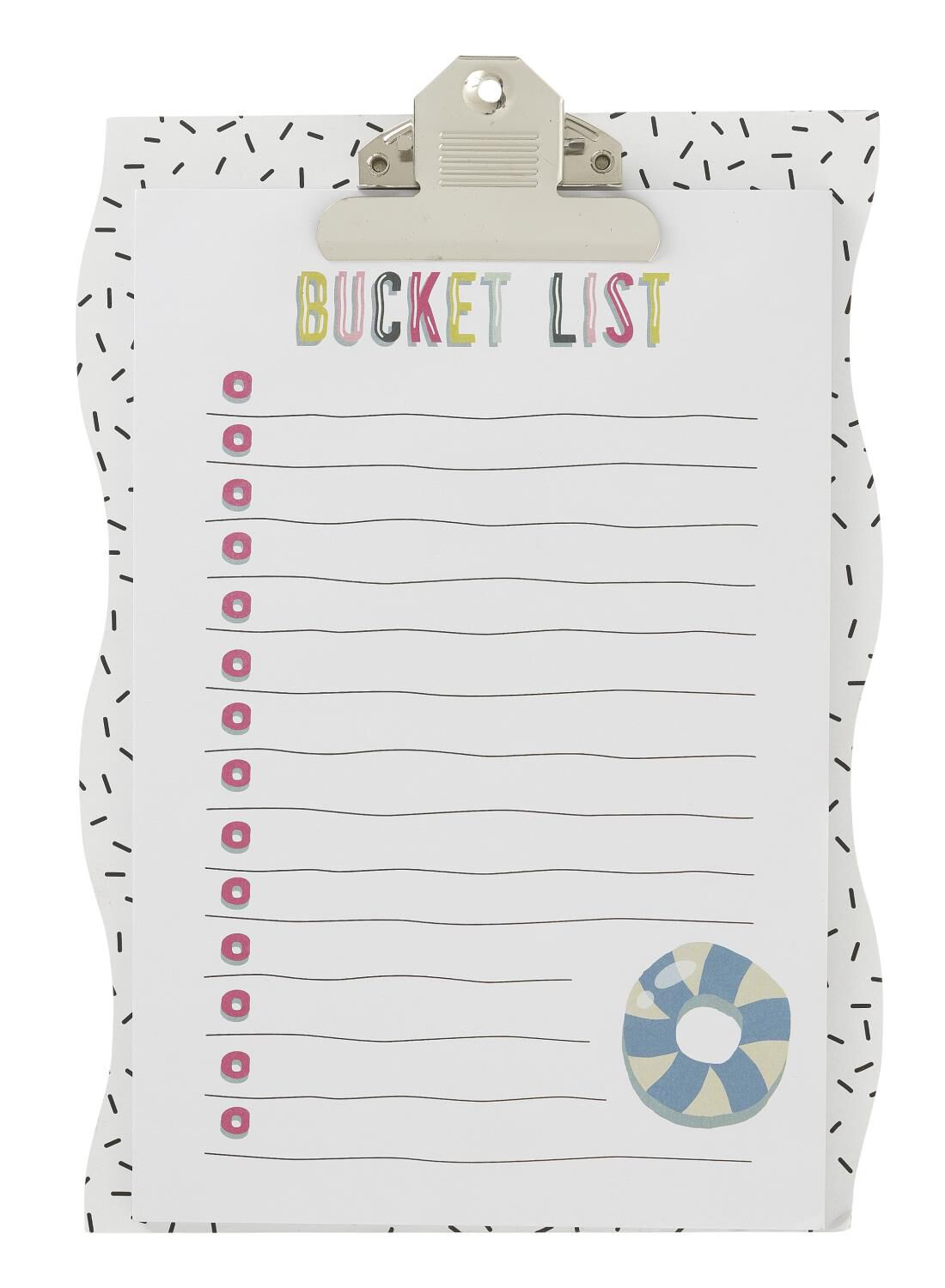 HEMA Clipboard Bucket List