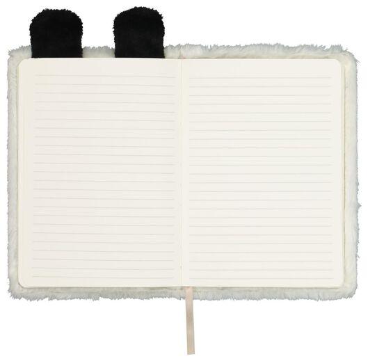 notitieboek A5 fluffy panda - 14150060 - HEMA