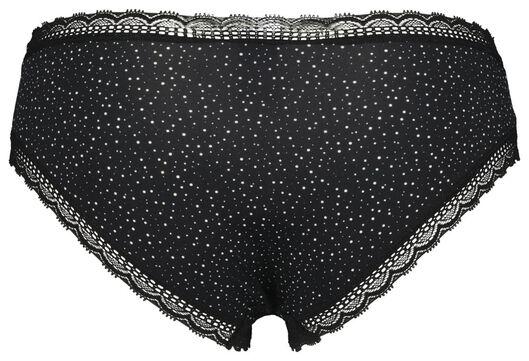 dameshipster micro zwart XS - 19646221 - HEMA