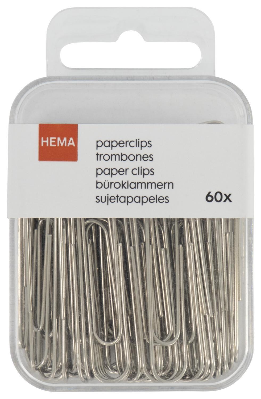HEMA Paperclips Groot - 60 Stuks