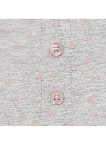 dames nachtlegging katoen grijsmelange grijsmelange - 1000011755 - HEMA