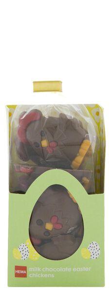 melkchocolade paaskippen 180gram - 10081038 - HEMA