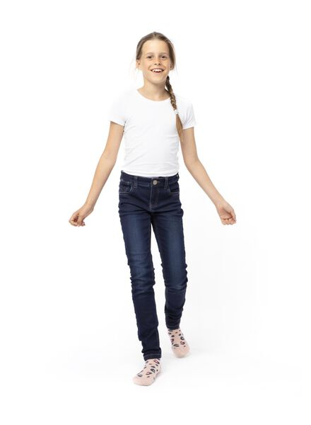 kinder t-shirts - 2 stuks wit wit - 1000013798 - HEMA
