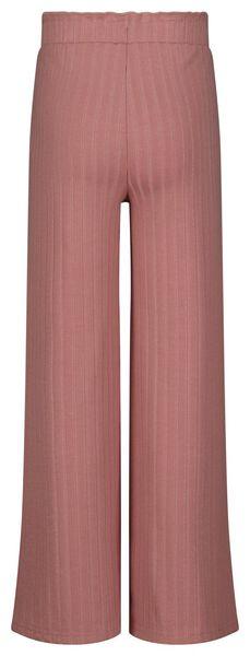kinderbroek rib roze roze - 1000024937 - HEMA