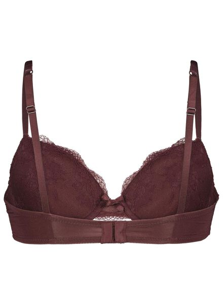 push-up bh kant donkerrood donkerrood - 1000014579 - HEMA