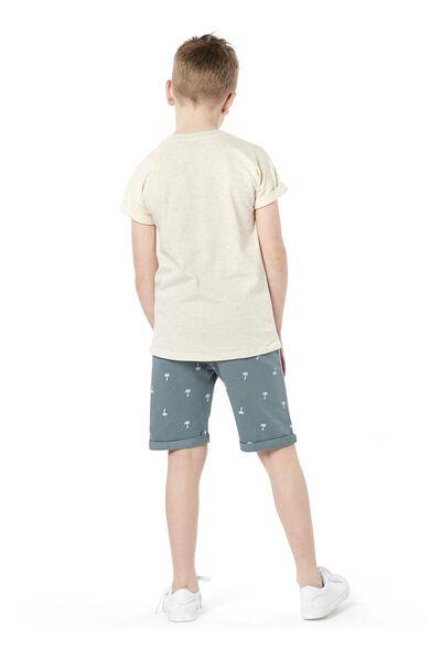 kinder t-shirt gebroken wit gebroken wit - 1000019150 - HEMA