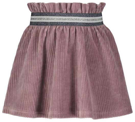 kinderrok corduroy paars paars - 1000020329 - HEMA