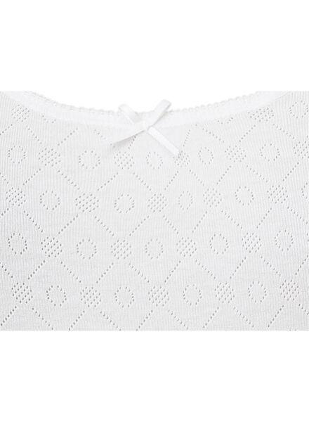 2-pak dameshemden katoen wit 40/42 - 19660871 - HEMA