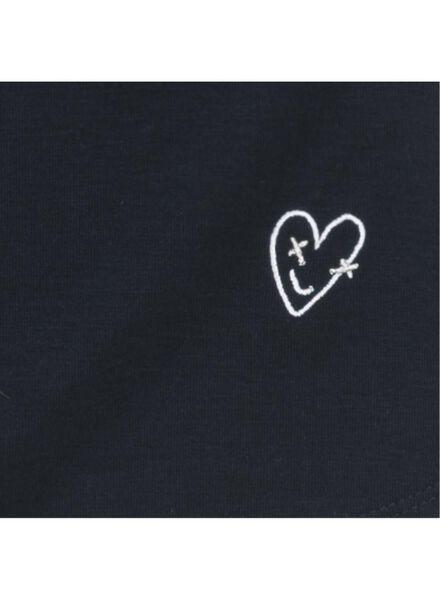 kinderjurk donkerblauw donkerblauw - 1000008598 - HEMA