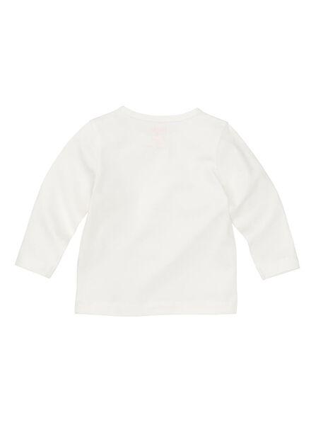 baby t-shirt wit wit - 1000008293 - HEMA