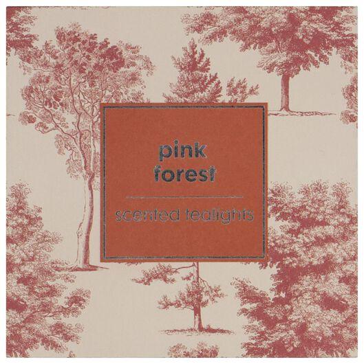 geursfeerlichtjes Ø3.5cm pink forest - 18 stuks - 13502471 - HEMA