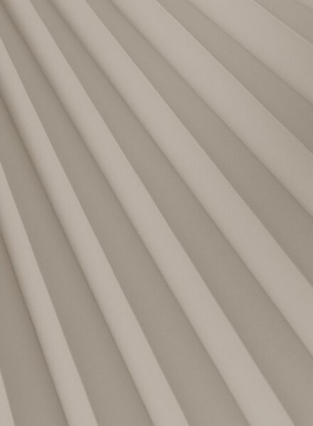 plisségordijn uni lichtdoorlatend 20 mm - 7430023 - HEMA