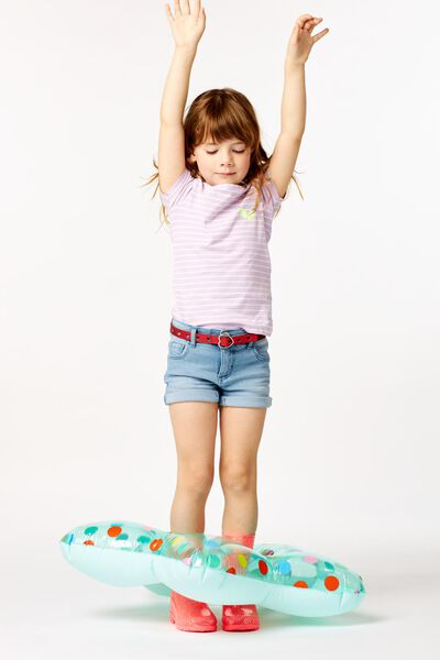 kindershort denim denim 122/128 - 30850650 - HEMA