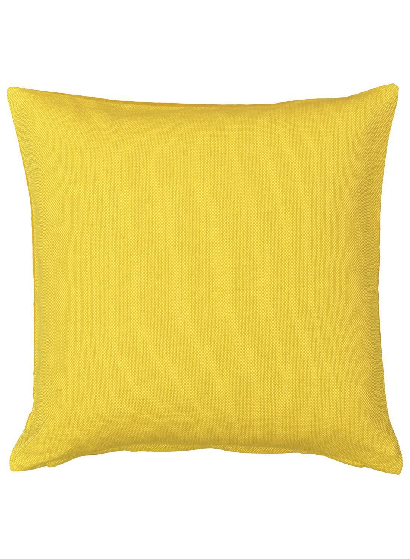HEMA Kussenhoes – 50 X 50 – Geel (geel)