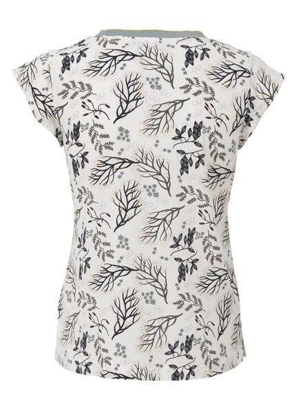 dames t-shirt gebroken wit - 1000009159 - HEMA