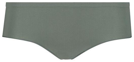dameshipster naadloos micro groen groen - 1000018642 - HEMA