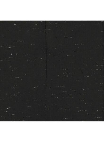 damesbroek met glitters zwart zwart - 1000017518 - HEMA