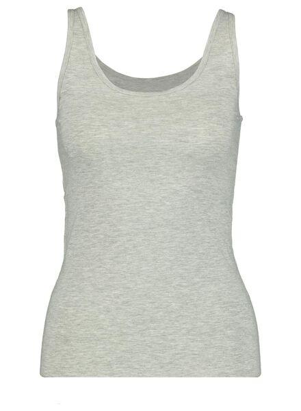 dameshemd katoen grijsmelange grijsmelange - 1000013983 - HEMA