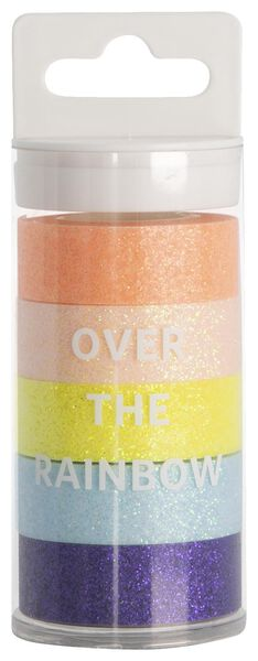 washi tape glitter - 5 stuks - 14590217 - HEMA