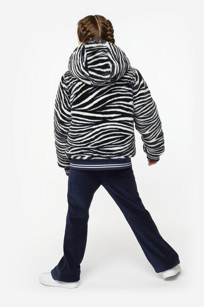 kinderjack omkeerbaar donkerblauw donkerblauw - 1000020666 - HEMA