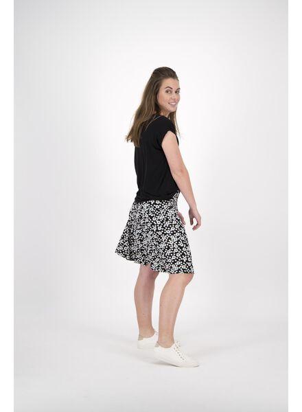 dames t-shirt zwart zwart - 1000011660 - HEMA