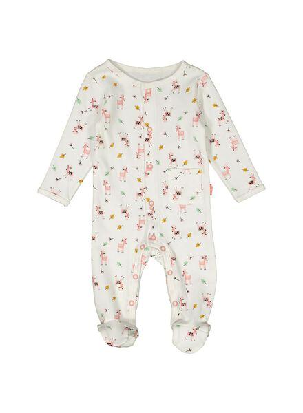 newborn set - biologisch katoen gebroken wit gebroken wit - 1000014047 - HEMA