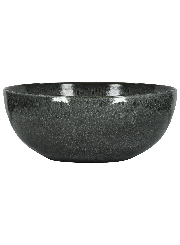 HEMA Schaal – 26 Cm – Porto – Reactief Glazuur – Zwart (zwart)