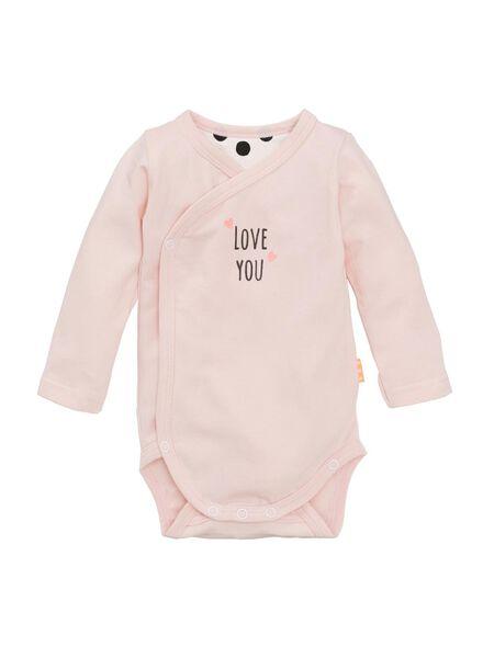 newborn set roze roze - 1000006785 - HEMA