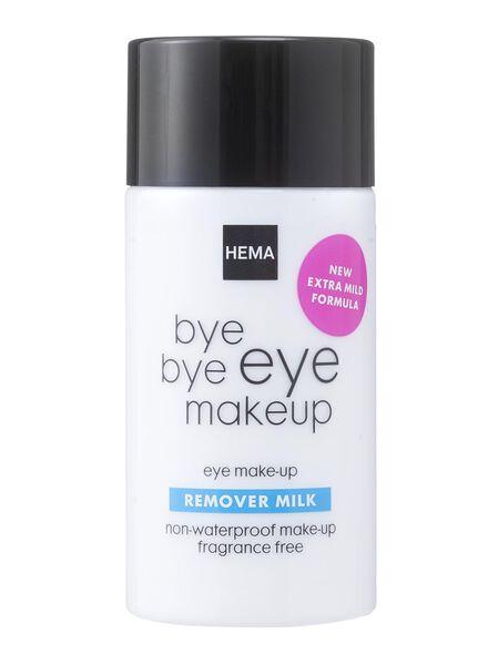 oog make-up reinigingsmelk - 17830015 - HEMA