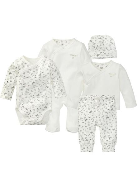 newborn set wit 56 - 33448002 - HEMA