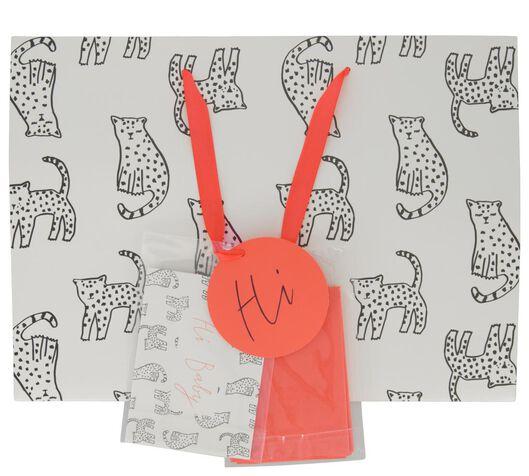 Cadeautas met envelop 27x37x12 cats - in Cadeauverpakkingen & cadeaupapier