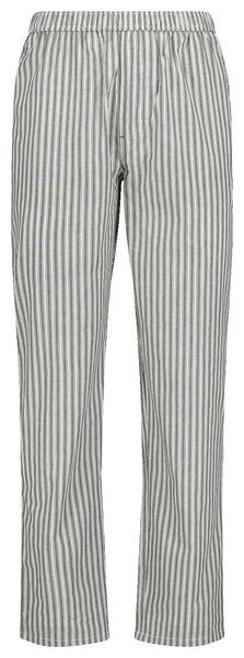 herenpyjamabroek poplin donkerblauw donkerblauw - 1000018717 - HEMA