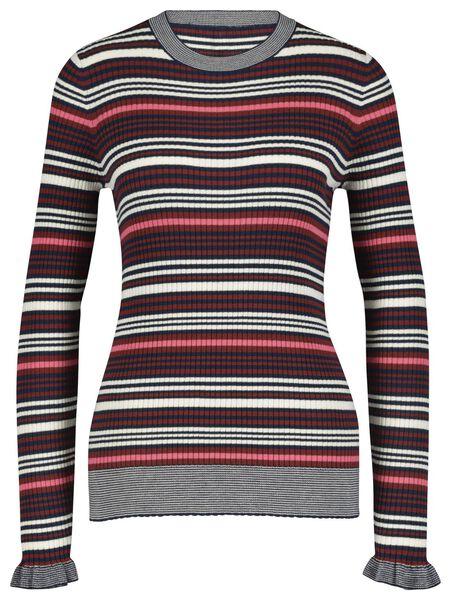 dames t-shirt middenbruin middenbruin - 1000018266 - HEMA