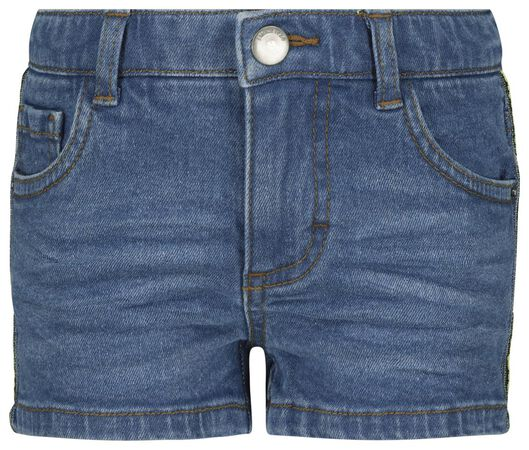 kindershort denim bies denim 122/128 - 30871741 - HEMA