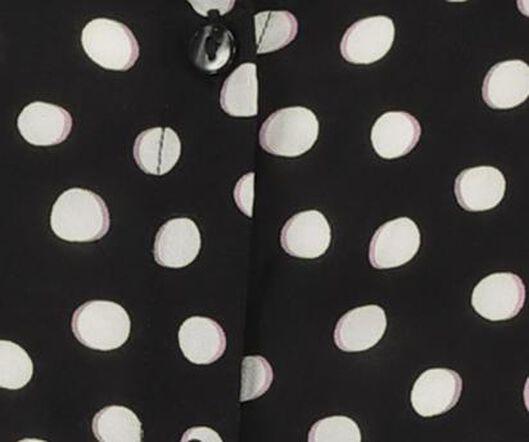 damesblouse zwart zwart - 1000018682 - HEMA
