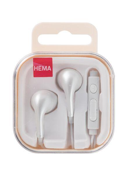 oortelefoon met microfoon en volumeregelaar - 39670036 - HEMA
