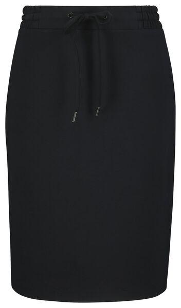damesrok zwart M - 36268072 - HEMA