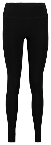 dames sportlegging zwart zwart - 1000020393 - HEMA