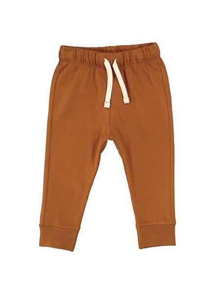 baby sweatbroek bruin bruin - 1000014708 - HEMA