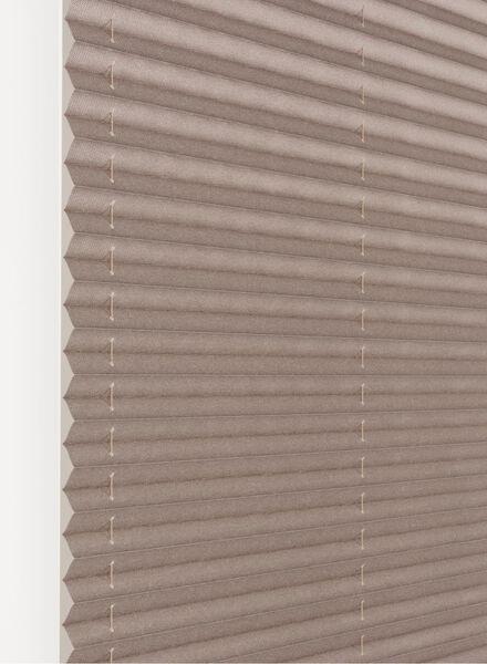 plisségordijn structuur grof lichtdoorlatend 20 mm - 7430053 - HEMA